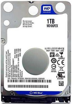 HD NOTEBOOK WD BLUE 1TB 5400RPM WD10SPZX
