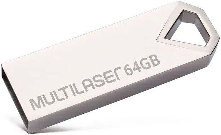 PENDRIVE MULTILASER 32GB DIAMOND USB 2.0 PD852