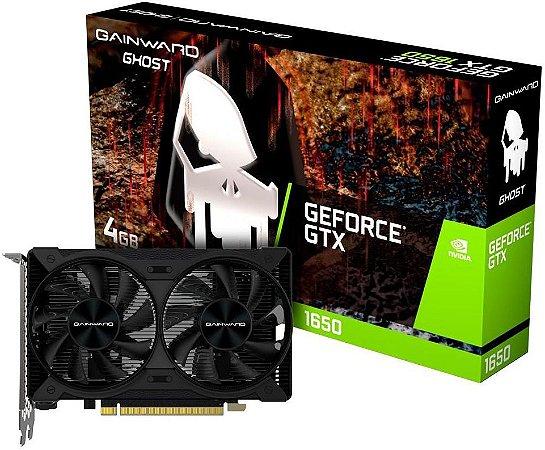 PLACA DE VÍDEO GAINWARD GHOST GEFORCE GTX 1650 4GB GDDR6 128BITS