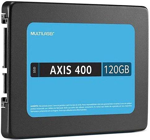 SSD MULTILASER 120GB AXIS 400 SATA III SS101