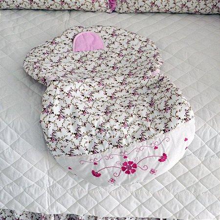 Capa Bebe Conforto Baby Heloisa Rosa