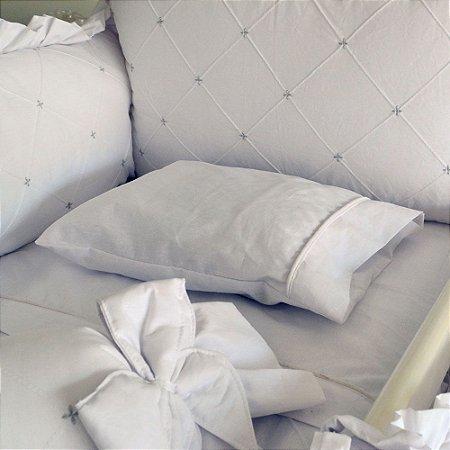 Travesseiro de Berço Baby CHEVRON CINZA