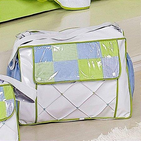 Bolsa de Bebê Henrique Azul Verde