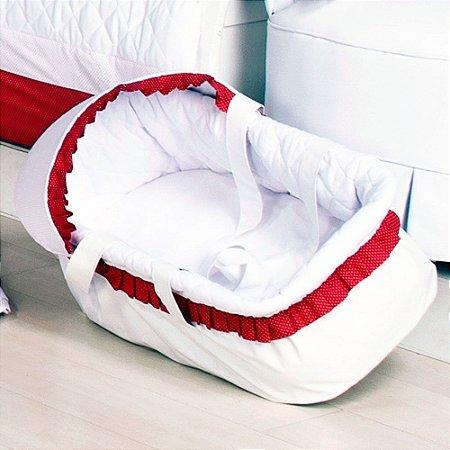 Moisés de Bebe - Transbaby Baby Retrô Vermelho