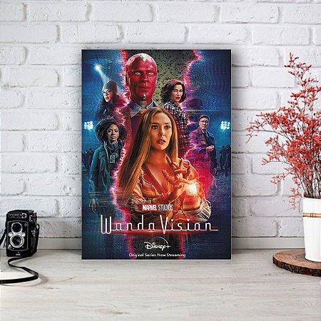 Quadro/Placa Decorativa Poster Disney WandaVision