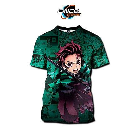 Camisa Tanjiro Kamado - Kimetsu no Yaiba