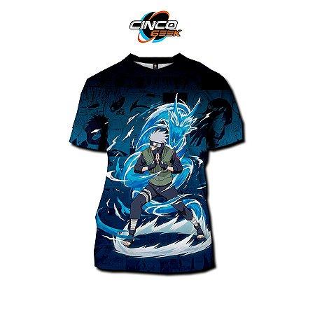 Camisa Kakashi Hatake - Naruto
