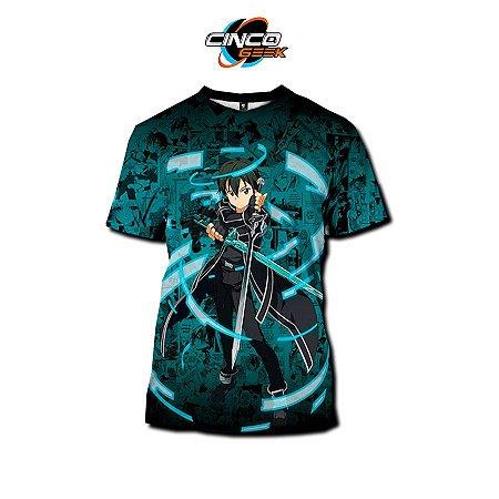 Camisa Kirito - Sword Art Online