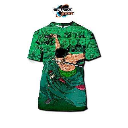 Camisa Roronoa Zoro - One Piece