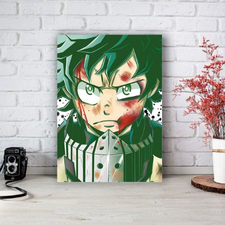 Quadro/Placa Decorativa Midoriya Boku no Hero Academia