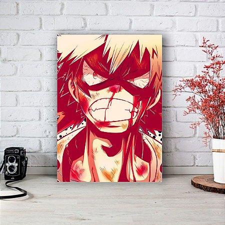 Quadro/Placa Decorativa Bakugou Boku no Hero Academia