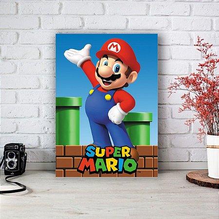 Quadro/Placa Decorativa Mario