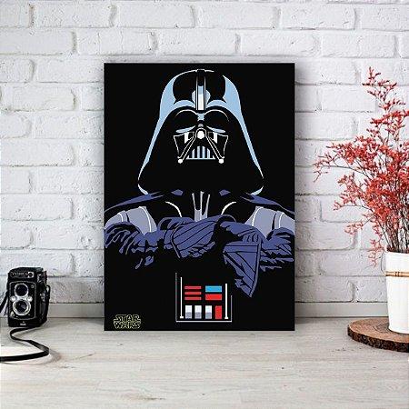 Quadro/Placa Decorativa Darth Vader - Star Wars