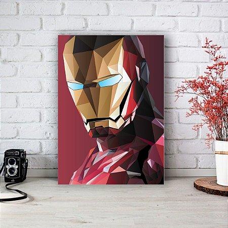 Quadro/Placa Decorativa Homem de Ferro