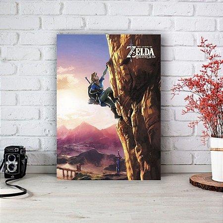 Quadro/Placa Decorativa Link The Legends of Zelda