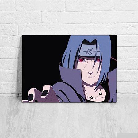 Quadro/Placa Decorativa Itachi Uchiha - Naruto