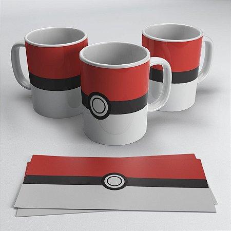 Caneca Pokébola Pokémon