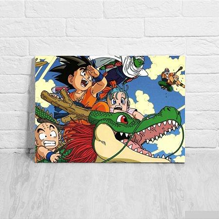 Quadro/Placa Decorativa Dragon Ball