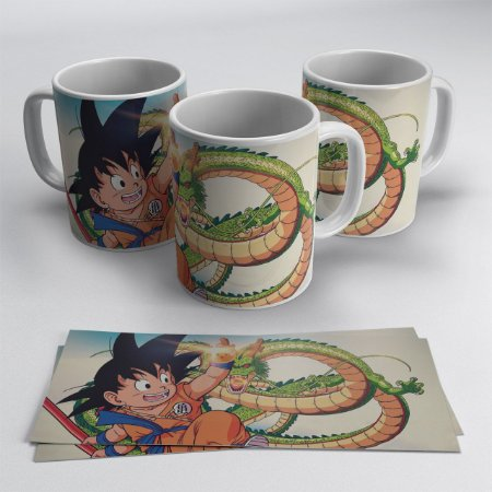 Caneca Goku e Shenlong