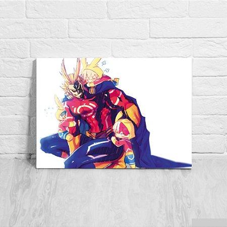 Quadro/Placa Decorativa Boku no Hero Academia