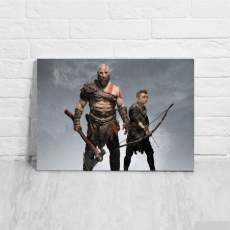 Placa Decorativa God of War