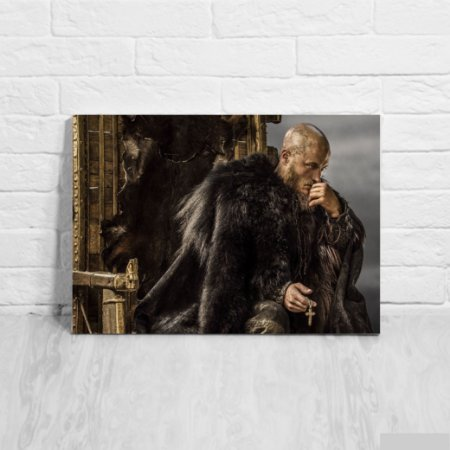 Placa Decorativa Ragnar Vikings
