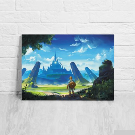 Placa Decorativa Link The Legends of Zelda