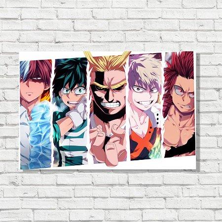 Placa Decorativa Boku no Hero Academia