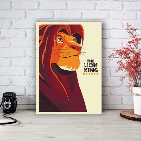 Placa Decorativa O Rei Leão