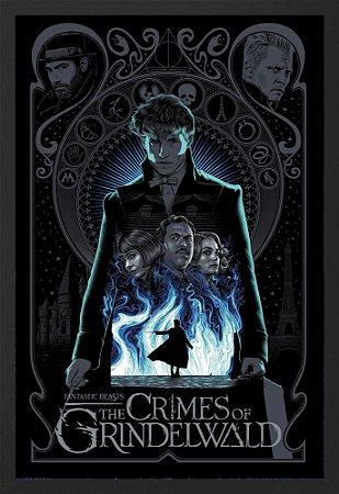 Quadro Animais Fantásticos e os Crimes de Grindelwald