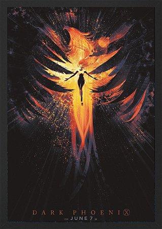 Quadro Poster X-Men Fênix Negra