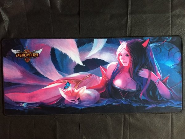 Mousepad Gamer Ahri (70x30cm) - League of Legends