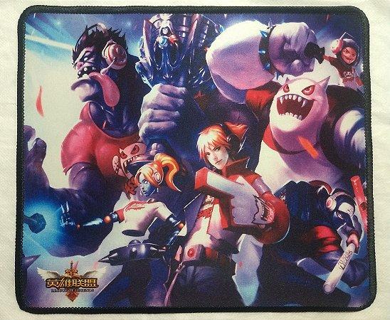 Mousepad Gamer Skins TPA (30x25cm) - League of Legends