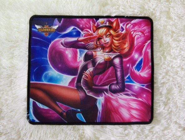 Mousepad Gamer Ahri Popstar (30x25cm) - League of Legends