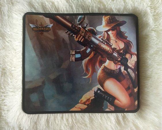 Mousepad Gamer Caitlyn (30x25cm) - League of Legends