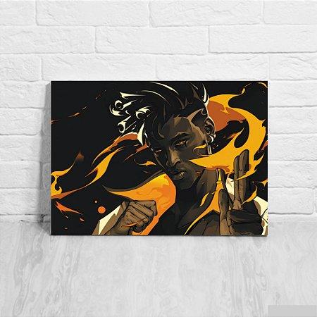 Quadro/Placa Decorativa Phoenix - Valorant