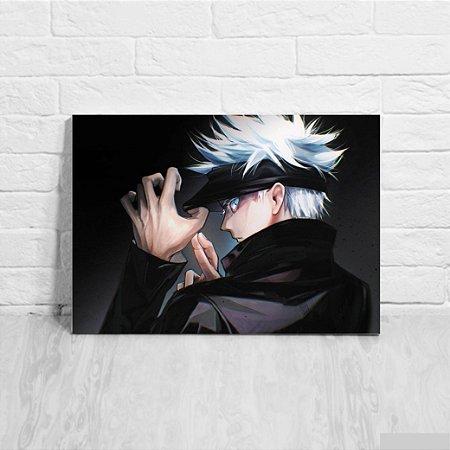 Quadro/Placa Decorativa Satoru Gojo - Jujutsu Kaisen
