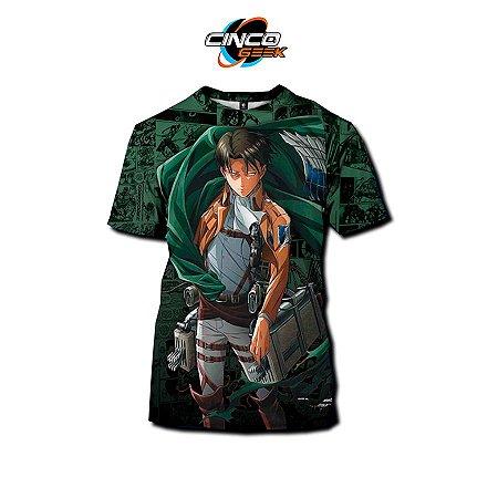 Camisa Levi Ackerman - Attack on Titan
