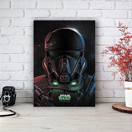Quadro/Placa Decorativa Star Wars - Rogue One