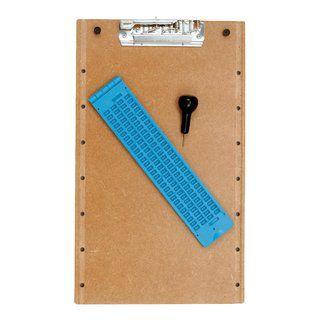 Reglete De Plástico De Mesa Para Escrita Braille