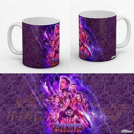 Caneca Vingadores Ultimato A Batalha Final Contra Thanos