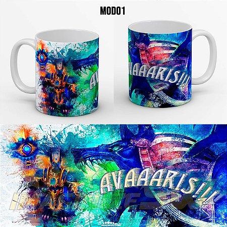 Caneca Personalizada Summoners War Avaris ( Anubis Water) - Nickname