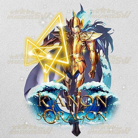 Camiseta Kanon de Dragão Marinho Saint Seiya Awakening