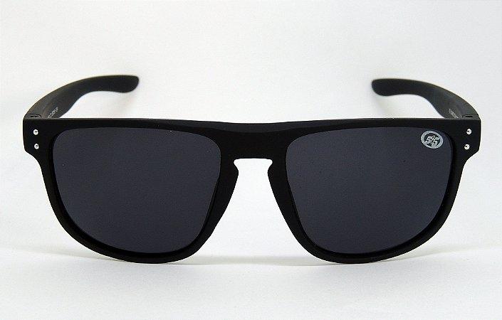 Óculos De Sol 585 Quadrado Preto com Lente Preta - Óculos 585 Marshal d384b6e5e9