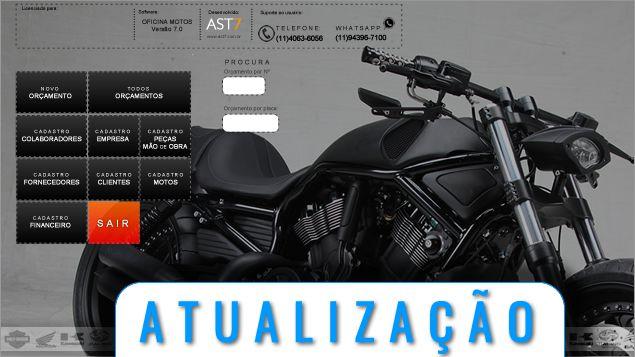 Oficina Motos   versão 7.0   Atualização