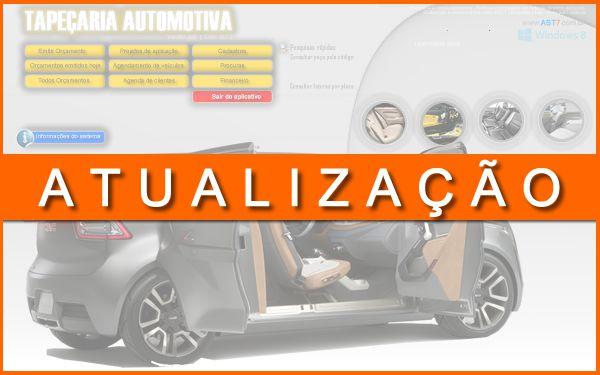 Tapeçaria automotiva   versão 2.0   Atualização