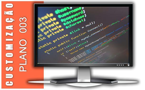 Customização de software | Plano 003