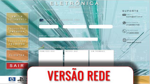 Eletrônica   Versão 3.0   R E D E