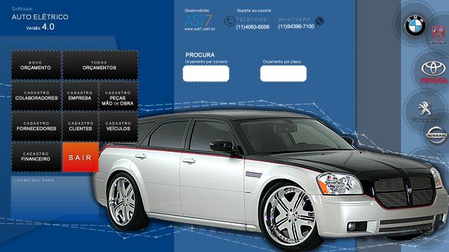Auto Elétrico de veículos | Versão 4.0