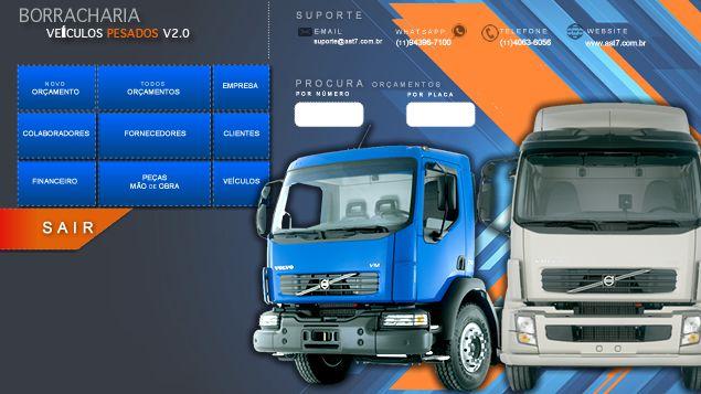Borracharia de caminhão | Versão 2.0